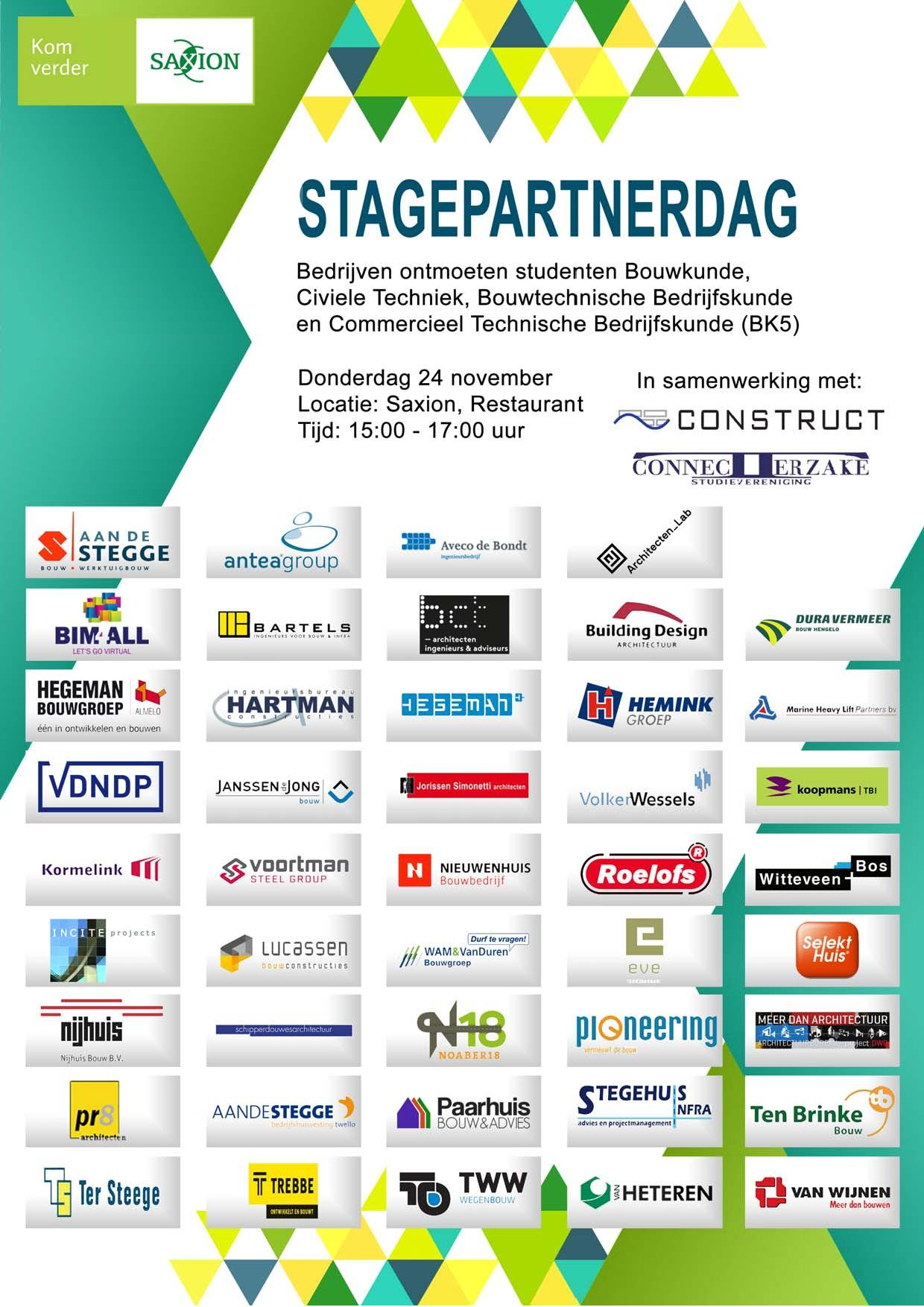 Stagepartnerdag 2016